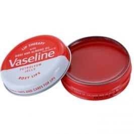 Vaseline Lip Therapy balsam do ust Rose and Almond Oil 20 g puder do ciała